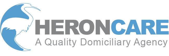 Heroncare logo home care